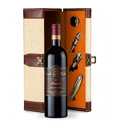 Gift Services Warehouse: Leonetti Reserve Red 2009 Wine Steward Luxury Caddy