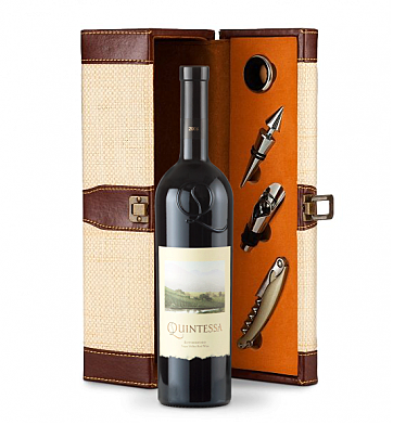 Wine Totes & Carriers: Quintessa Meritage Red Wine Gift Set