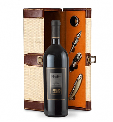 Wine Totes & Carriers: Shafer Hillside Select Cabernet Sauvignon 2008 Wine Steward Luxury Caddy