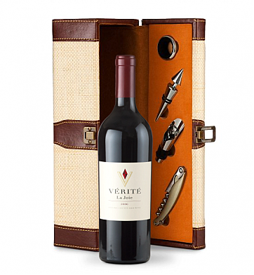 Wine Totes & Carriers: Verite La Joie Cabernet Sauvignon 2006 Wine Steward Luxury Caddy
