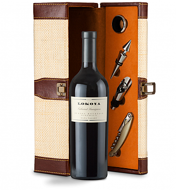 Wine Totes & Carriers: Lokoya Cabernet Sauvignon Wine Gift Set