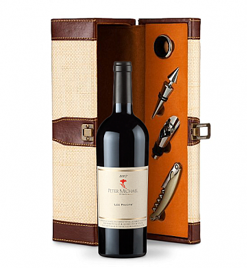 Wine Totes & Carriers: Peter Michael Les Pavots 2007 Wine Steward Luxury Caddy