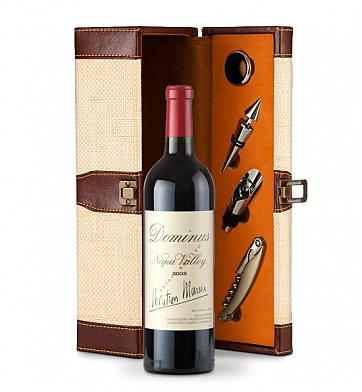 Wine Totes & Carriers: Dominus Estate Wine Gift Set