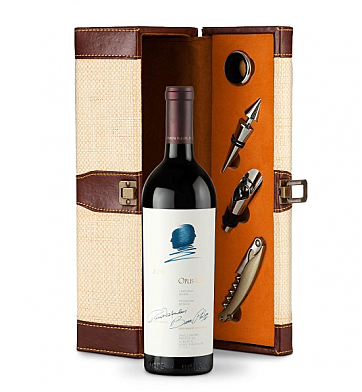 Wine Totes & Carriers: Opus One Wine Gift Set
