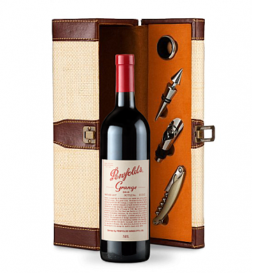 Wine Totes & Carriers: Penfolds Grange Wine Gift Set