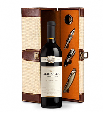 Wine Totes & Carriers: Beringer Private Reserve Cabernet Sauvignon Wine Gift Set