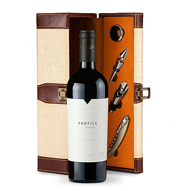 Wine Totes & Carriers: Merryvale Profile 2010 Wine Steward Luxury Caddy
