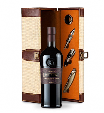 Wine Totes & Carriers: Joseph Phelps Insignia Red 2009 Wine Steward Luxury Caddy
