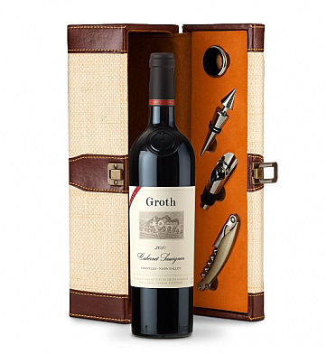 Wine Totes & Carriers: Groth Reserve Cabernet Sauvignon 2008 Wine Steward Luxury Caddy