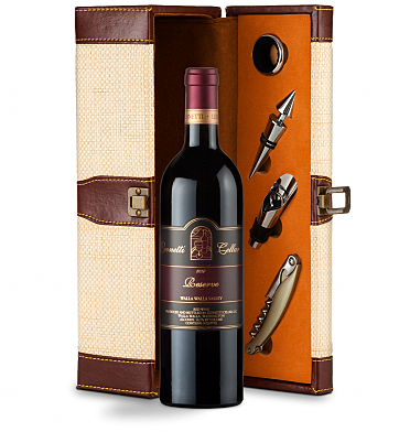 Wine Totes & Carriers: Leonetti Reserve Red 2010 Wine Steward Luxury Caddy