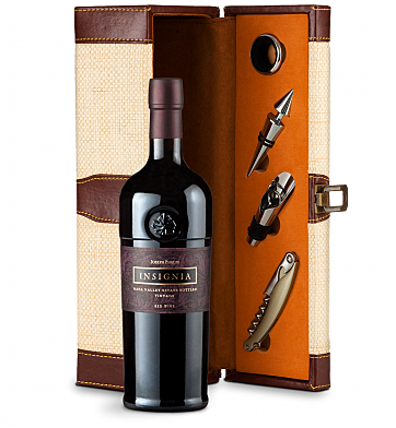 Wine Totes & Carriers: Joseph Phelps Napa Valley Insignia Red 2012 Wine Steward Luxury Caddy
