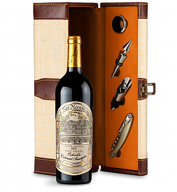 Wine Totes & Carriers: Far Niente Estate Bottled Cabernet Sauvignon 2013 Wine Steward Luxury Caddy