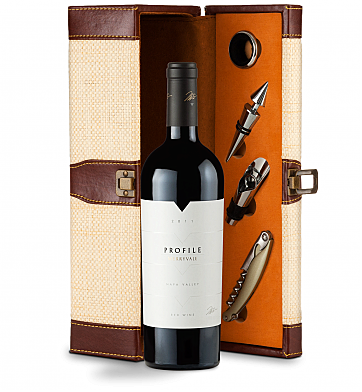 Wine Totes & Carriers: Merryvale Profile 2011 Wine Steward Luxury Caddy