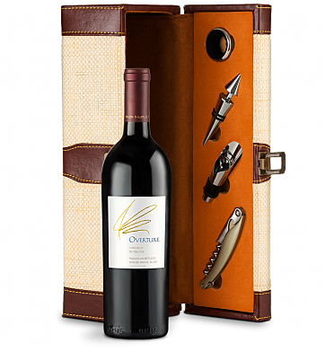 Wine Totes & Carriers: Opus One Overture Wine Steward Luxury Caddy