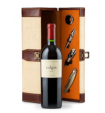Wine Totes & Carriers: Colgin Cellars Cariad Red Blend 2011 Wine Steward Luxury Caddy