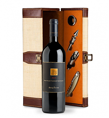 Wine Totes & Carriers: Darioush Signature Cabernet Sauvignon 2013 Wine Steward Luxury Caddy