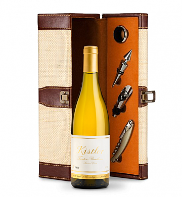 Wine Totes & Carriers: Kistler Trenton Roadhouse Chardonnay Sonoma Coast 2013 Wine Steward Luxury Caddy