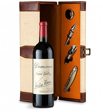 Wine Totes & Carriers: Dominus Estate 2013 Wine Steward Luxury Caddy