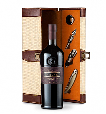 Wine Totes & Carriers: Joseph Phelps Napa Valley Insignia Red 2013 Wine Steward Luxury Caddy