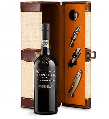 Wine Totes & Carriers: Fonseca Vintage Port 2016 Wine Steward Luxury Caddy