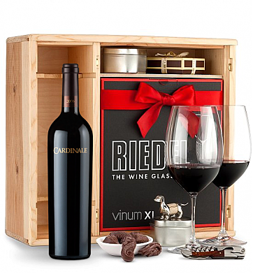 Wine Gift Boxes: Cardinale Cabernet Sauvignon 2006 Private Cellar Gift Set
