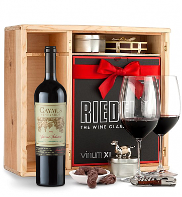 Wine Gift Boxes: Caymus Special Selection Cabernet Sauvignon 2010 Private Cellar Gift Set