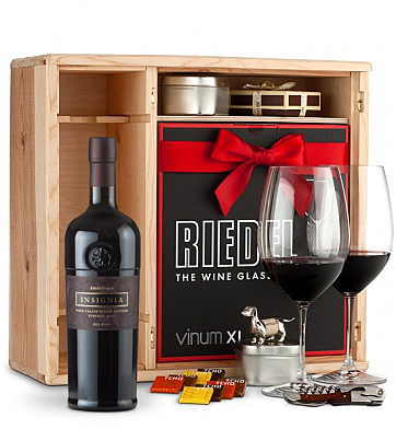 Wine Gift Boxes: Joseph Phelps Insignia Private Cellar Gift Set