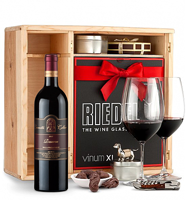 Wine Gift Boxes: Leonetti Reserve 2006 Private Cellar Gift Set