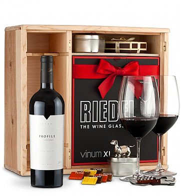 Wine Gift Boxes: Merryvale Profile 2006 Private Cellar Gift Set