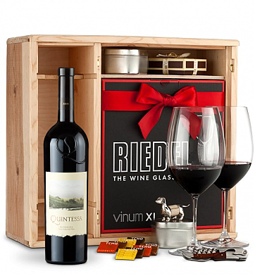 Wine Gift Boxes: Quintessa Meritage Red Private Cellar Gift Set