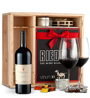 Wine Gift Boxes: Peter Michael Les Pavots 2007 Private Cellar Gift Set