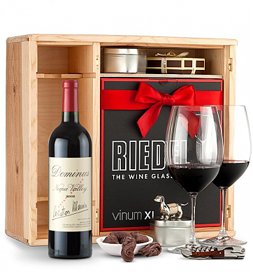 Wine Gift Boxes: Dominus Estate 2008 Private Cellar Gift Set