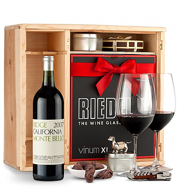 Wine Gift Boxes: Ridge Monte Bello 2007 Private Cellar Gift Set