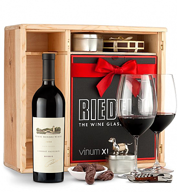 Wine Gift Boxes: Robert Mondavi Reserve Cabernet Sauvignon 2009 Private Cellar Gift Set