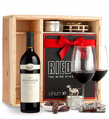 Wine Gift Boxes: Beringer Private Reserve Cabernet Sauvignon Private Cellar Gift Set