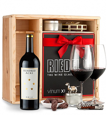 Wine Gift Boxes: Hundred Acre Ark Vineyard Cabernet Sauvignon 2010 Private Cellar Gift Set