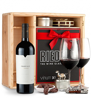 Wine Gift Boxes: Merryvale Profile 2009 Private Cellar Gift Set