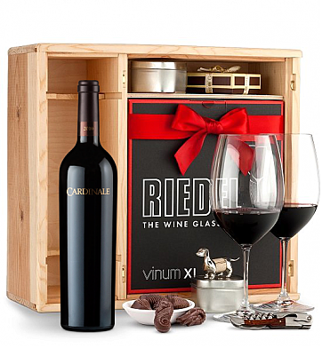 Wine Gift Boxes: Cardinale Cabernet Sauvignon 2010 Private Cellar Gift Set