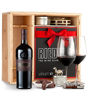 Wine Gift Boxes: Joseph Phelps Insignia Red 2009 Private Cellar Gift Set