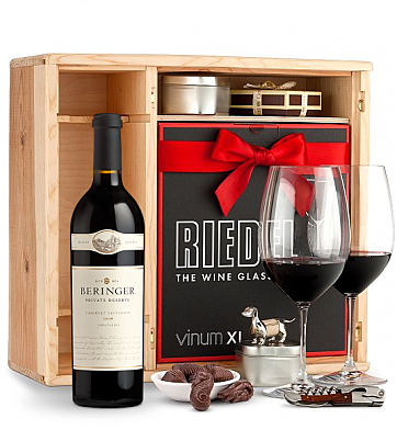 Wine Gift Boxes: Beringer Private Reserve Cabernet Sauvignon 2008 Private Cellar Gift Set