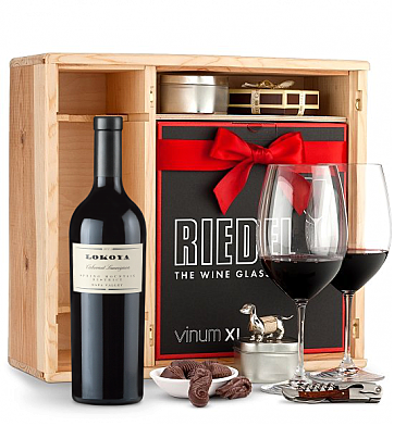 Wine Gift Boxes: Lokoya Mt. Veeder Cabernet Sauvignon 2005 Private Cellar Gift Set