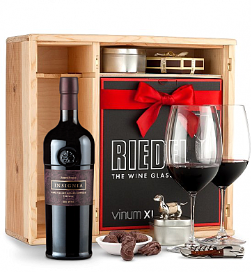 Wine Gift Boxes: Joseph Phelps Insignia Red 2011 Private Cellar Gift Set