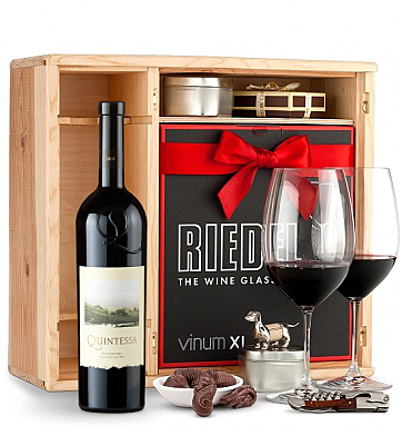 Wine Gift Boxes: Quintessa Meritage Red 2010 Private Cellar Gift Set