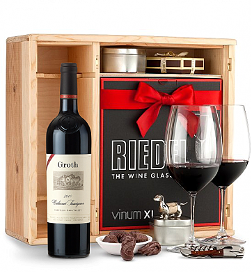 Wine Gift Boxes: Groth Reserve Cabernet Sauvignon 2009 Private Cellar Gift Set