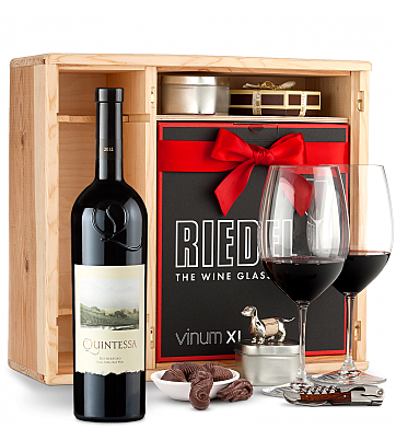 Wine Gift Boxes: Quintessa Meritage Red 2012 Private Cellar Gift Set