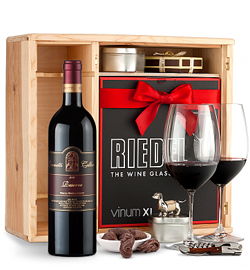 Wine Gift Boxes: Leonetti Reserve Red 2012 Private Cellar Gift Set