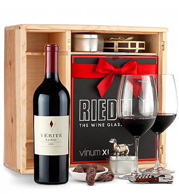 Wine Gift Boxes: Verite La Joie Cabernet Sauvignon 2009 Private Cellar Gift Set