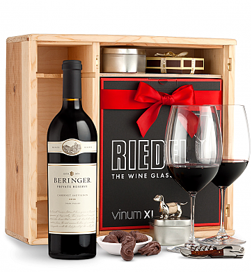 Wine Gift Boxes: Beringer Private Reserve Cabernet Sauvignon 2012 Private Cellar Gift Set