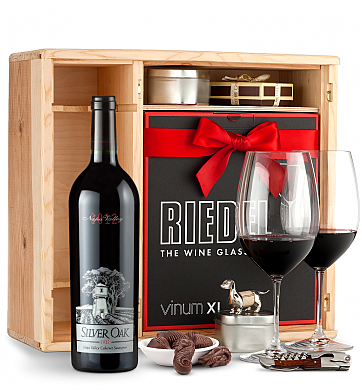 Wine Gift Boxes: Silver Oak Napa Valley Cabernet Sauvignon 2012 Private Cellar Gift Set