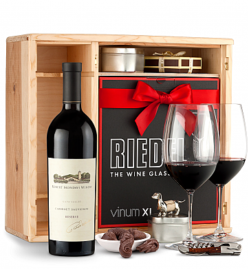 Wine Gift Boxes: Robert Mondavi Reserve Cabernet Sauvignon 2013 Private Cellar Gift Set